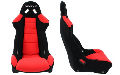 Сиденья Bimarco Cobra Black/Red
