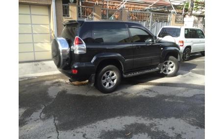 Дефлекторы окон Toyota Land Cruiser Prado 150
