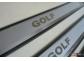 Накладки на пороги Volkswagen Golf 7