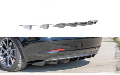 Накладка задняя Tesla Model 3