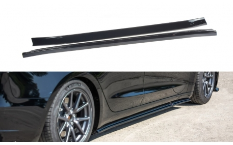 Пороги Tesla Model 3