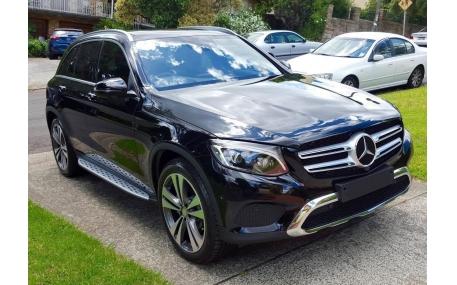 Подножки Mercedes GLC-class