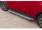 Подножки Mitsubishi Outlander