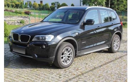 Подножки BMW X3 F25