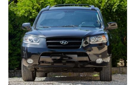 Накладка передняя Hyundai Santa Fe