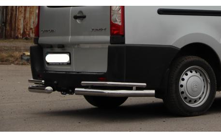 Защита задняя Toyota Hilux