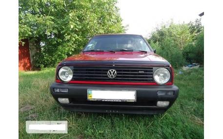 Дефлектор капота Volkswagen Golf 2