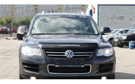 Дефлектор капота Volkswagen Touareg
