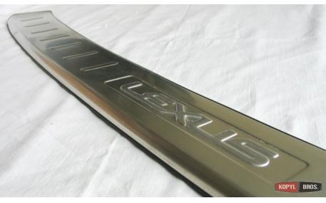 Накладка на задний бампер Lexus RX