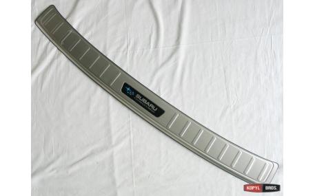 Накладка на задний бампер Subaru XV