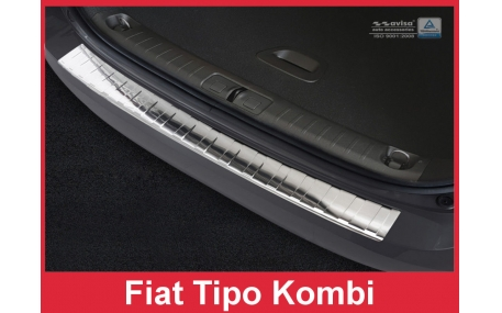 Накладка на задний бампер Fiat Tipo