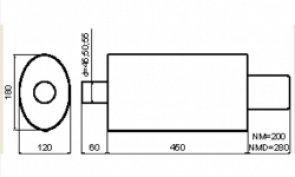 NM130 (1 вход - 1 выход)