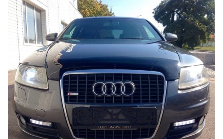 Дефлектор капота Audi A6 C6