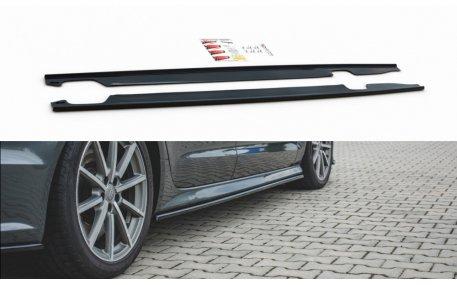 Накладки на пороги Audi A6 C7