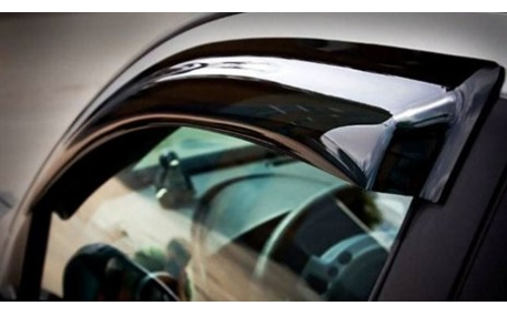 Дефлекторы окон Renault Logan