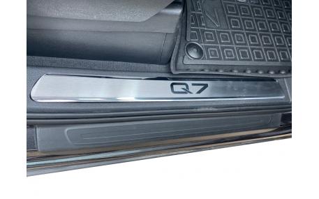 Накладки на пороги Audi Q7