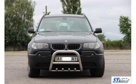 Защита передняя BMW X3 E83