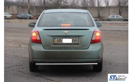 Защита задняя Chevrolet Lacetti