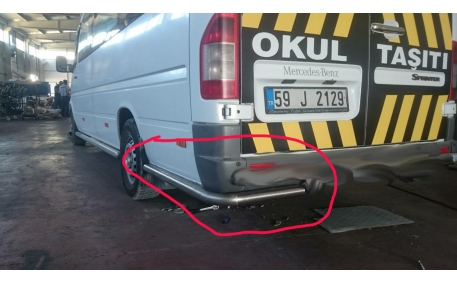 Защита задняя Volkswagen LT