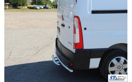 Защита задняя Renault Master