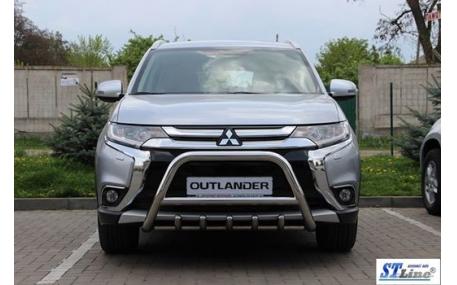 Защита передняя Mitsubishi Outlander