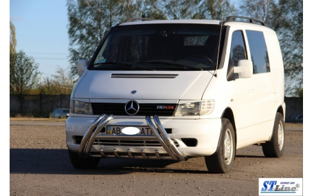 Защита передняя  Mercedes Vito W638