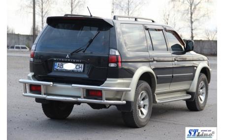 Защита задняя Mitsubishi Pajero Sport