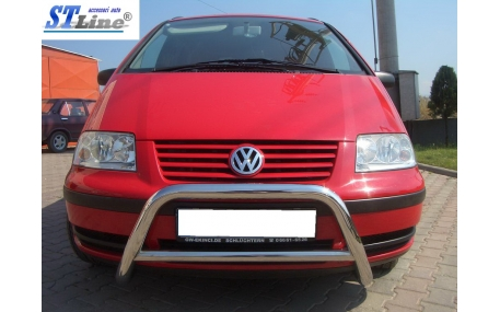Защита передняя Volkswagen Sharan
