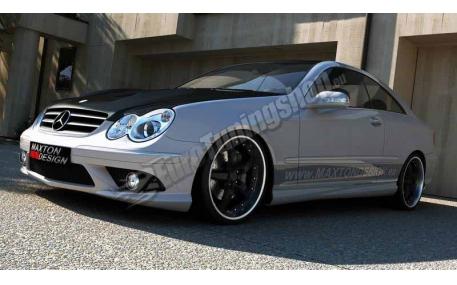 Бампер передний Mercedes CLK-class W209