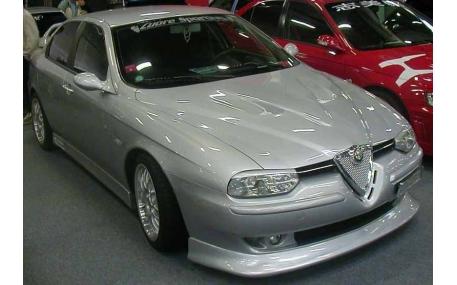 Накладка передняя Alfa Romeo 156