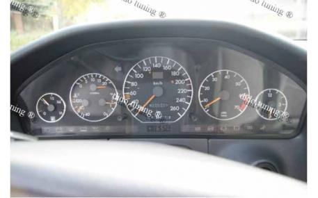 Кольца в щиток приборов Mercedes S-class W140
