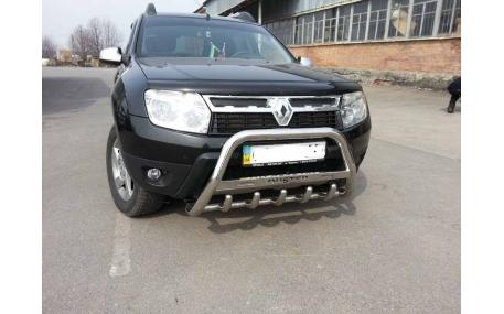 Защита передняя Renault Duster