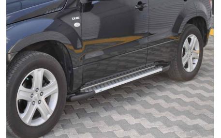 Подножки Toyota Hilux