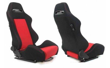 Сиденья R-LOOK Black - Red