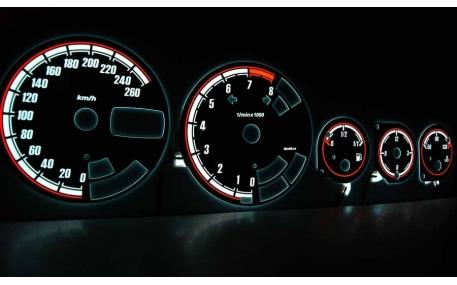Шкалы приборов Alfa Romeo 156