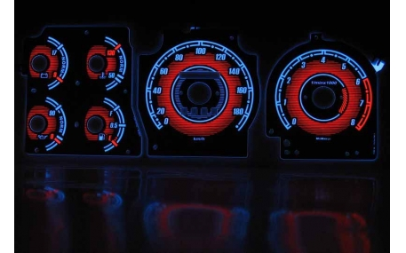 Шкалы приборов Ford Probe 1