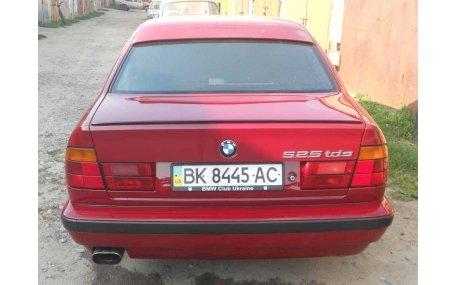 Спойлер BMW E34