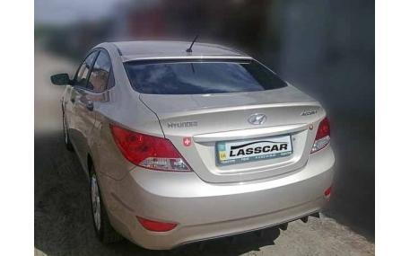 Спойлер Hyundai Accent