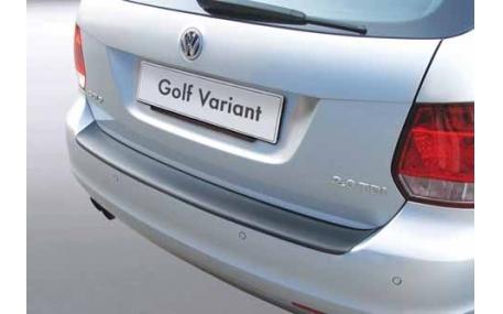 Накладка на задний бампер Volkswagen Golf 5