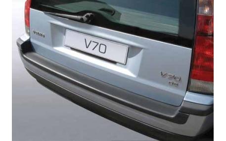 Накладка на задний бампер Volvo V70