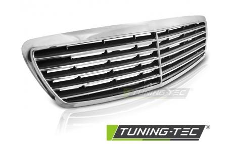 Решетка радиатора Mercedes E-class W211