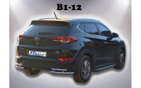 Защита задняя Hyundai Tucson