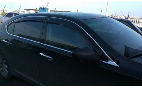 Дефлекторы окон Lexus LS460