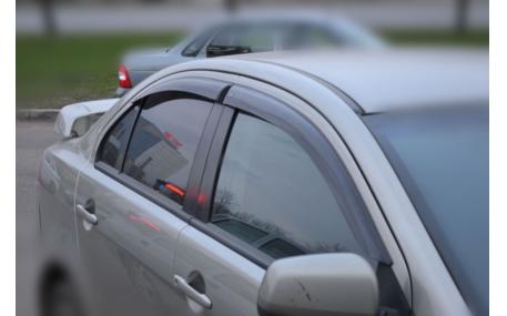 Дефлекторы окон Mitsubishi Lancer X
