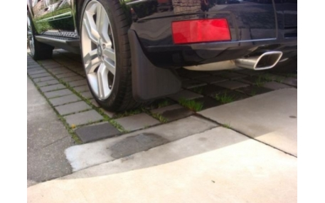 Брызговики Mercedes GLK-class X204