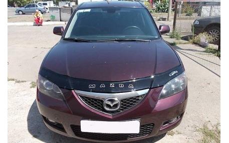Дефлектор капота Mazda 3 Sedan