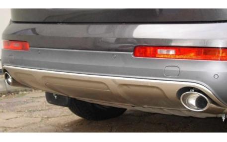 Насадка на глушитель Audi Q7