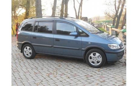 Дефлекторы окон Opel Zafira A