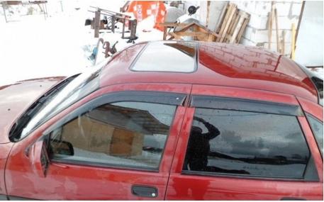 Дефлекторы окон Opel Vectra A