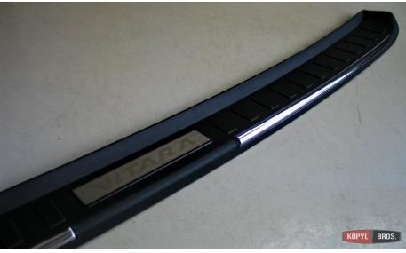 Накладка на задний бампер Suzuki Vitara